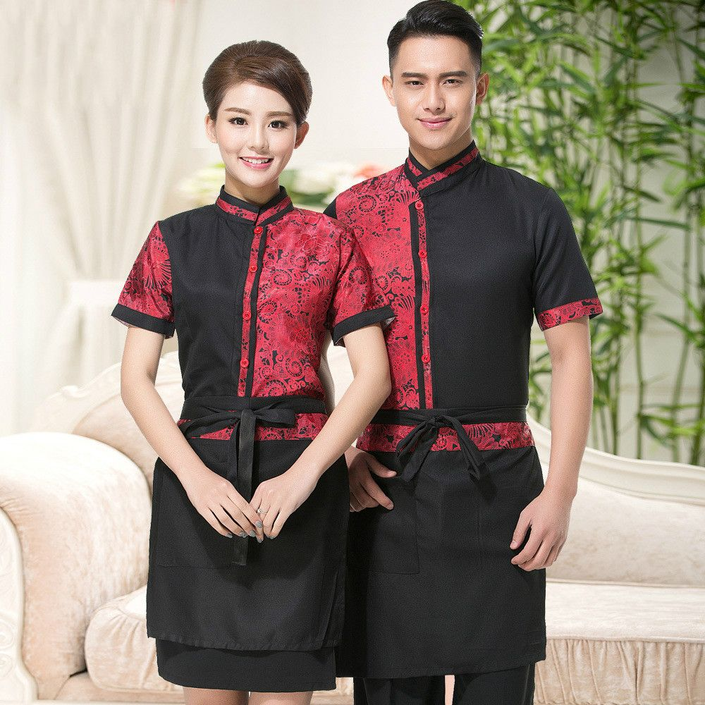 Inspiring Asian Restaurant Uniform Ideas