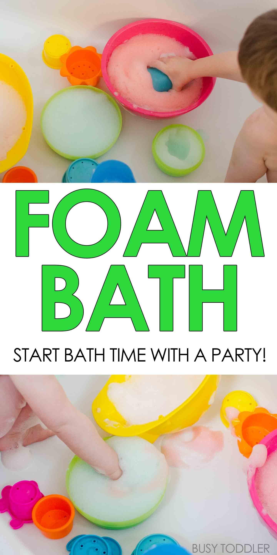 Foam Bath | Tubs, Activities and Bath
