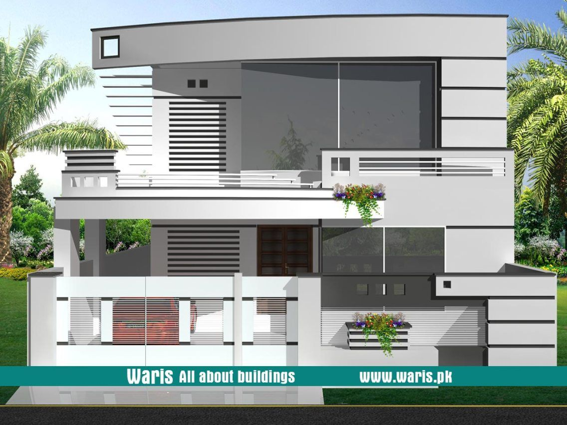 House Design In Pakistan 35x65 House Front Design Architectural House Plans Latest House Designs