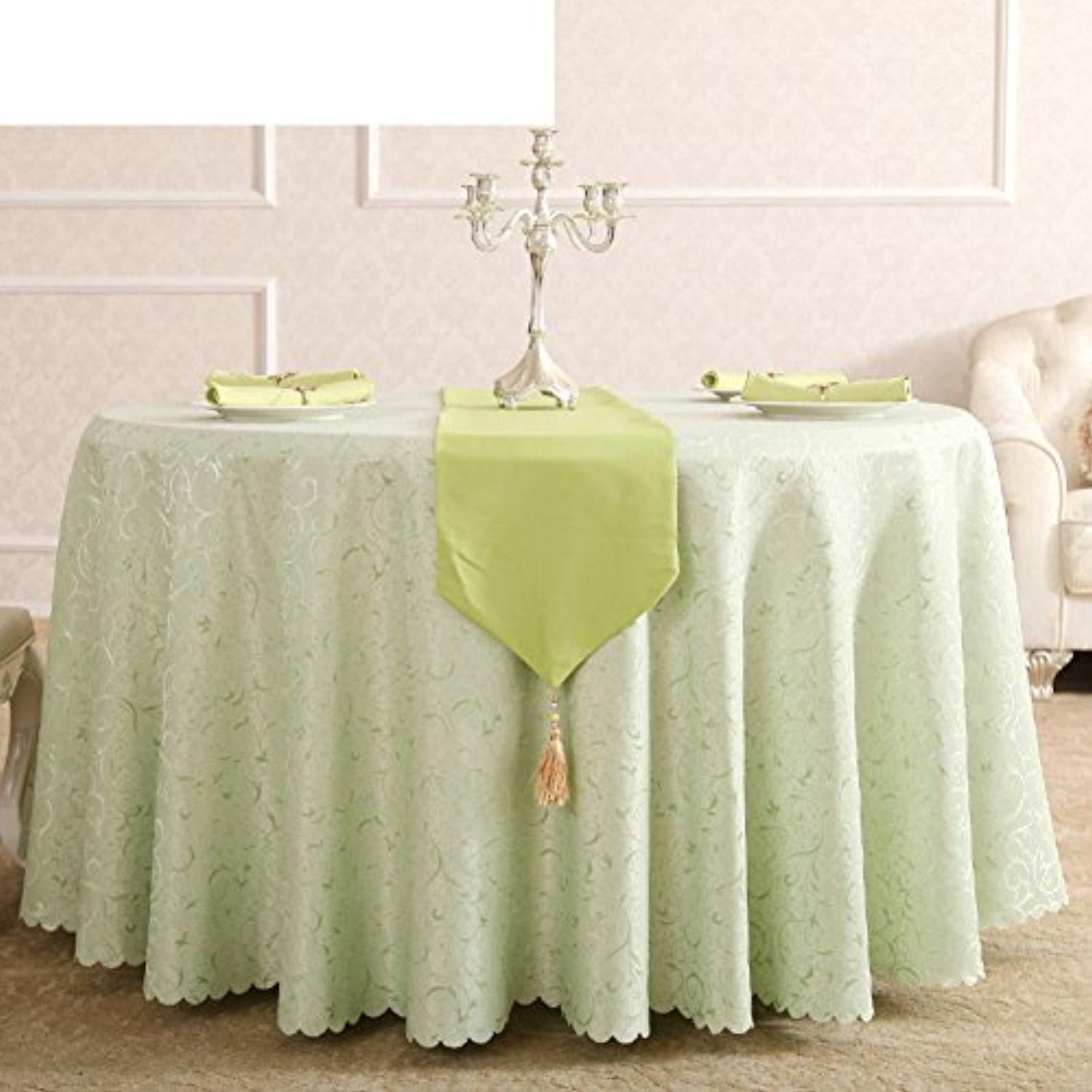 Hotel round table cloth Continental restaurant table linen