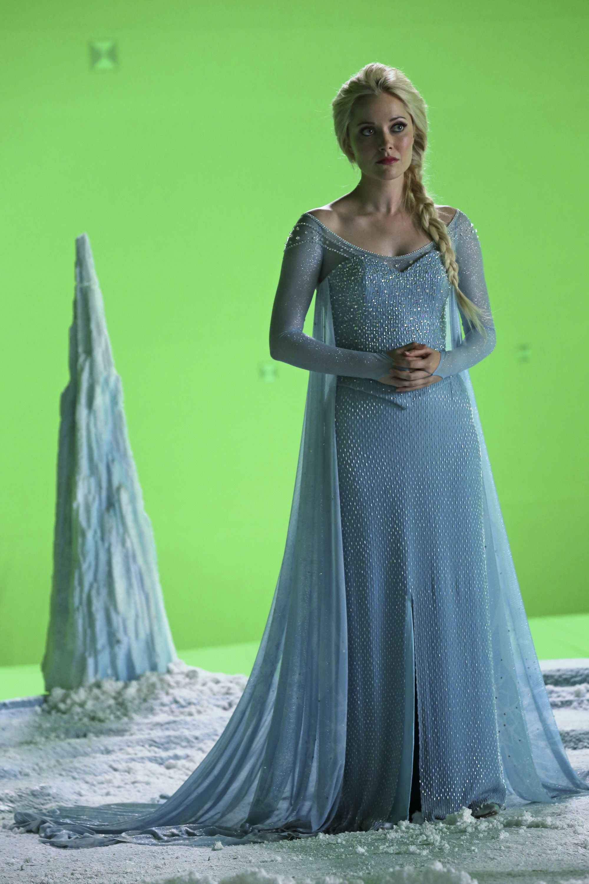 Once Upon A Time Elsa : Photo:, Episode, White, Time,, Disney, Dresses,, Costume, Design