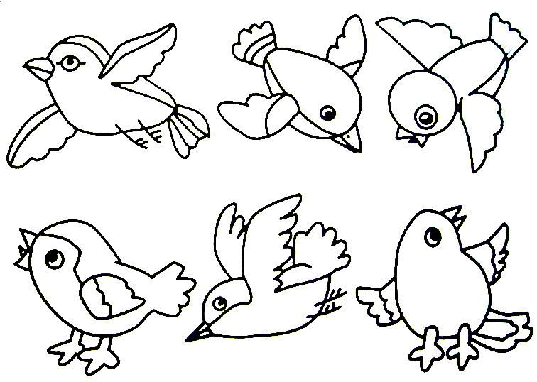 Bird Theme Bird Coloring Pages Birds For Kids Animal Coloring Pages