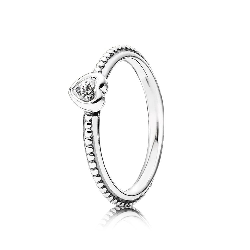 Pandora Women's Ring 191023CZ Never-Ending Love pTr5rNjDQP