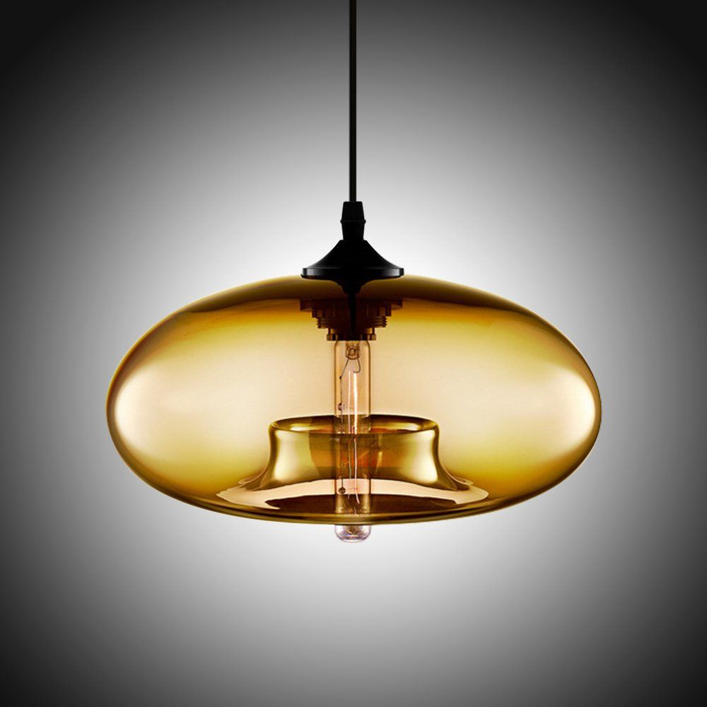 Boshen Hanging Modern Glass Pendant Ceiling Light Lamp Shade Lighting Fixtures Replacement Cl Ceiling Lights Ceiling Pendant Lights Glass Pendant Ceiling Light