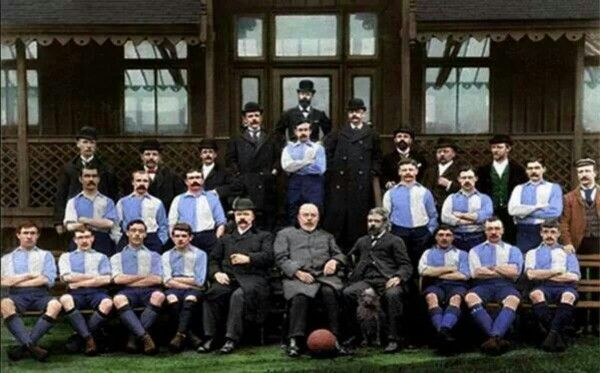 Liverpool FC 1st Ever Team ....in Blue & White 1892