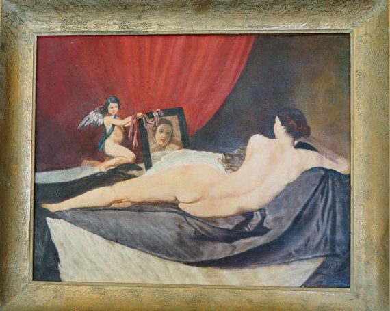 Vintage Oil Painting of Reclining Nude by UnnecessaryNecessity & Vintage Oil Painting of Reclining Nude by UnnecessaryNecessity ... islam-shia.org