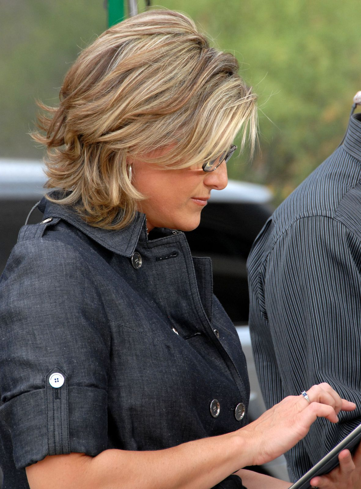 ashleigh banfield / cnn | hair colors | hair styles, short
