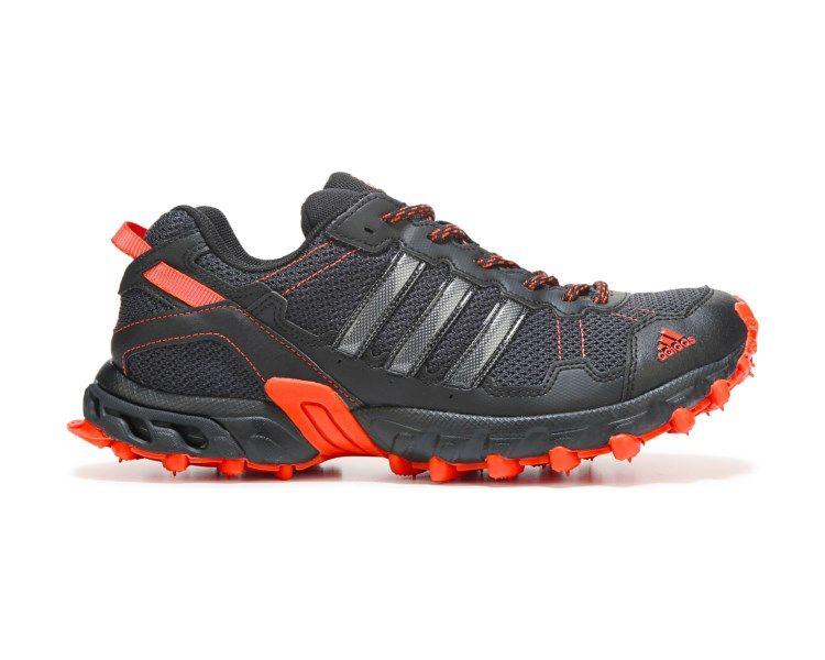 adidas Rockadia Trail Running Shoe Black/Red | Adidas trail ...