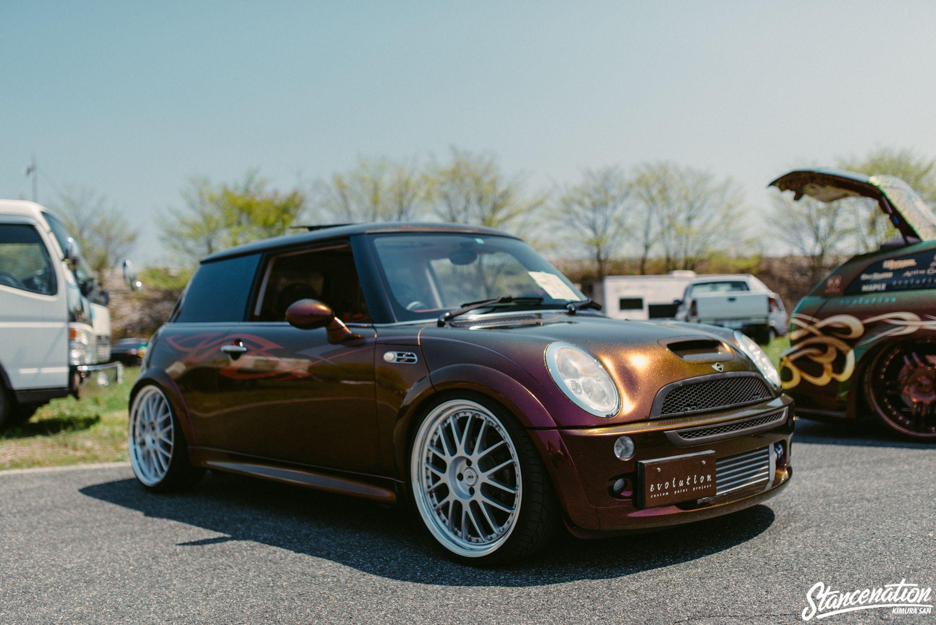 Slammed Show Drive Photo Coverage Part 2 Stancenation Form Function Mini Cooper Mini Cooper S Mini S