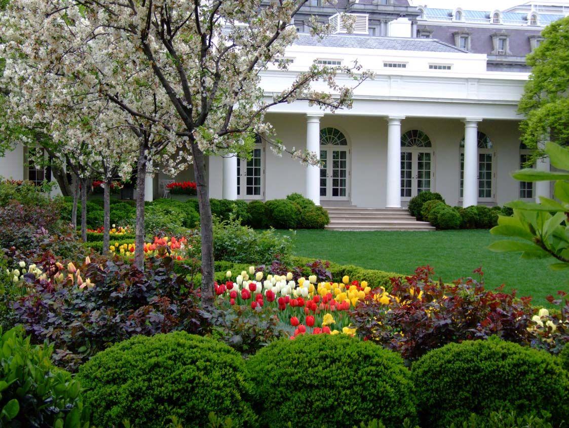 White House Rose Garden Tour | White House Announces 2011 Spring ...