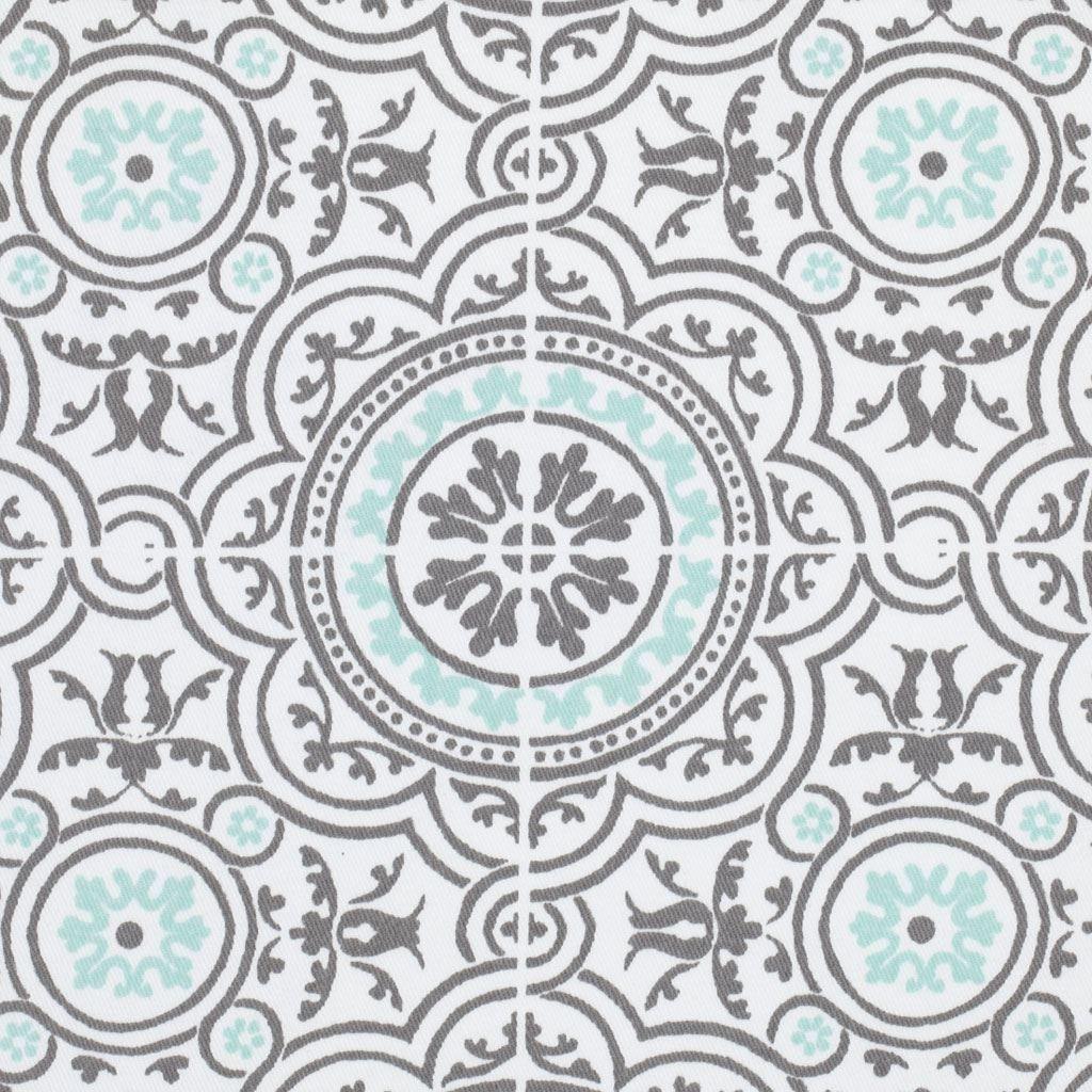 tissu serg azulejos gris palace tissus maison mondial tissus idees couture pinterest. Black Bedroom Furniture Sets. Home Design Ideas