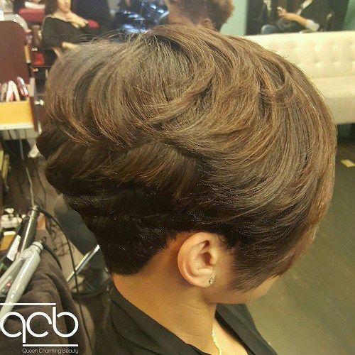 20 Wonderful Wedge Haircuts - Short Stacked Wedge Haircut - Google Search Hair Styles