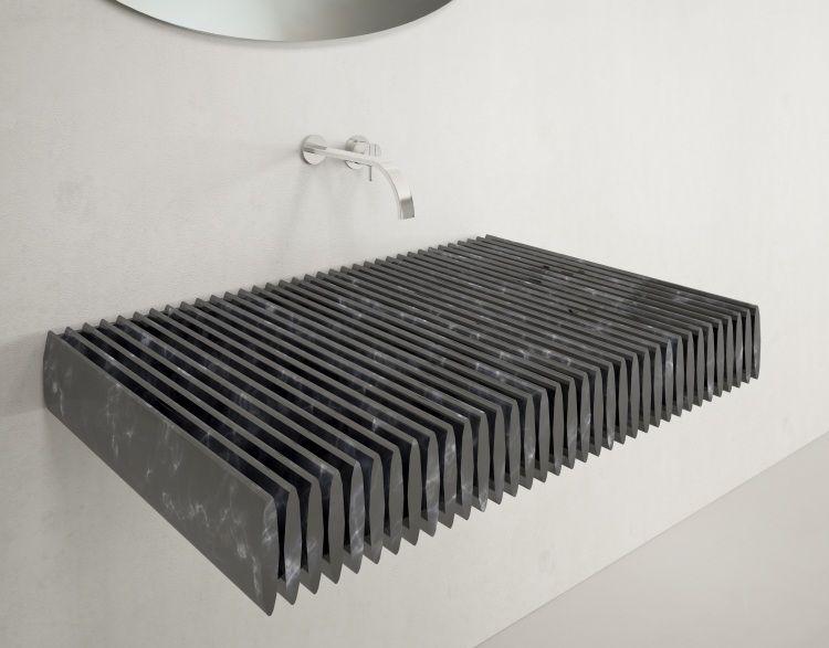 monolithe Waschbecken Designs aus Granit von Uainot Architetti ...