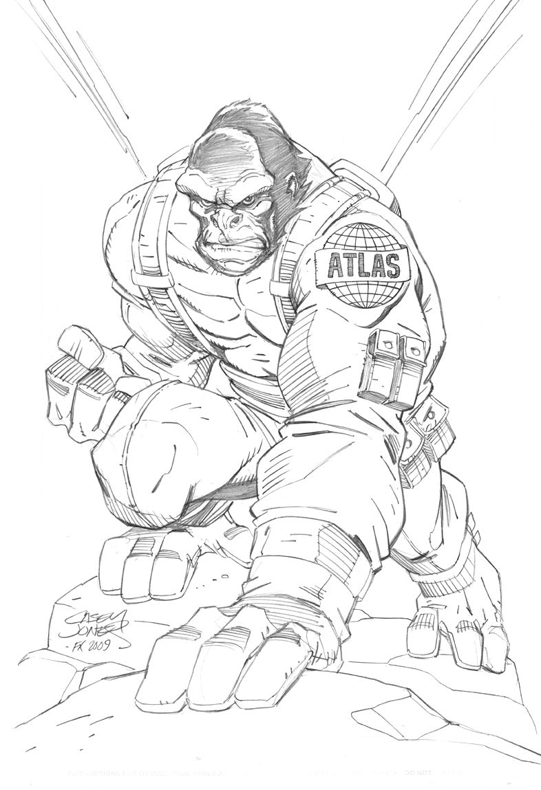 Gorilla Grodd Coloring Pages Coloring Pages