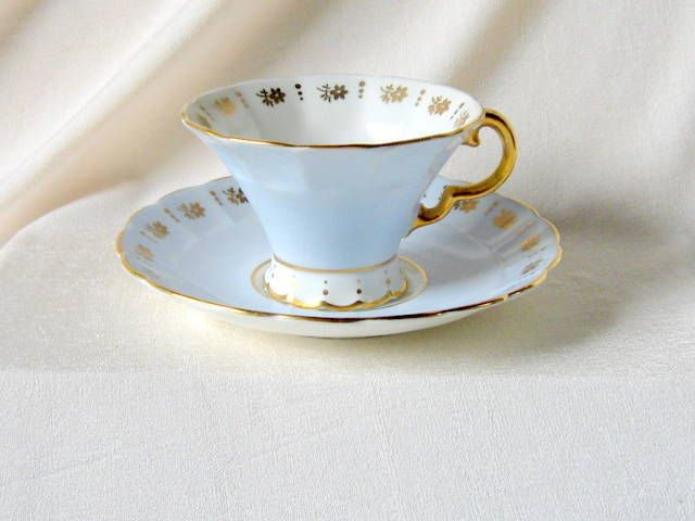 Vintage Adderly Bone China Tea Cup Heavily Gilded