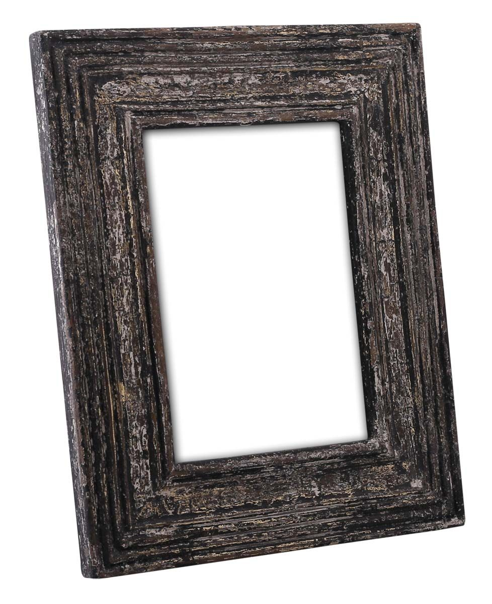 Bulk Wholesale Handmade 4x6 Mango Wood Photo Frame Picture Holder With Ribbed Pattern In Distress Handmade Photo Frames Wood Photo Frame Photo Picture Frames