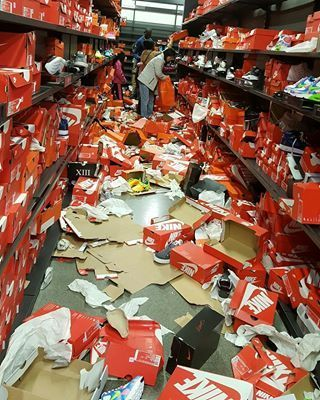 Black Friday Shoppers Trashed This Nike Store Like a 'Zombie