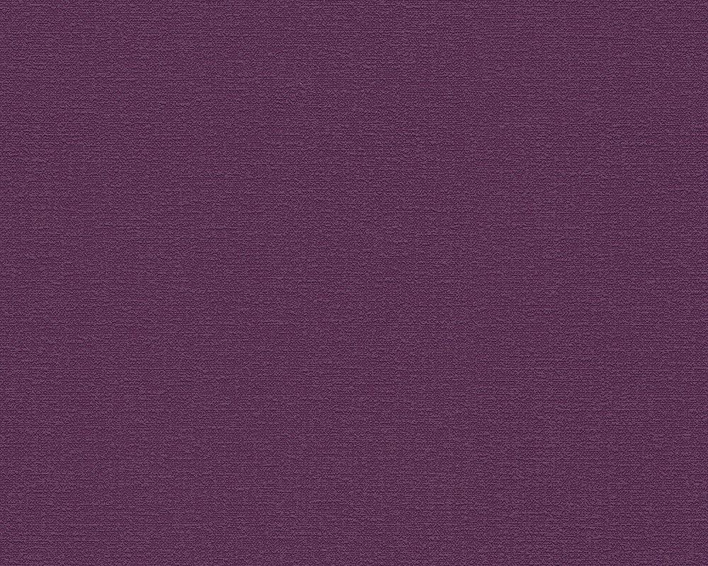 Modern Solids Wallpaper In Dark Purple Design By BD Wall
