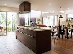 タイル フローリングetc キッチンの床材の種類と特徴 キッチン床