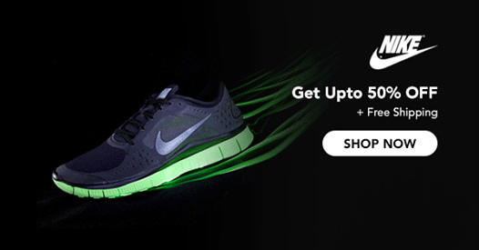 Save Up To 50% With Nike Promotion