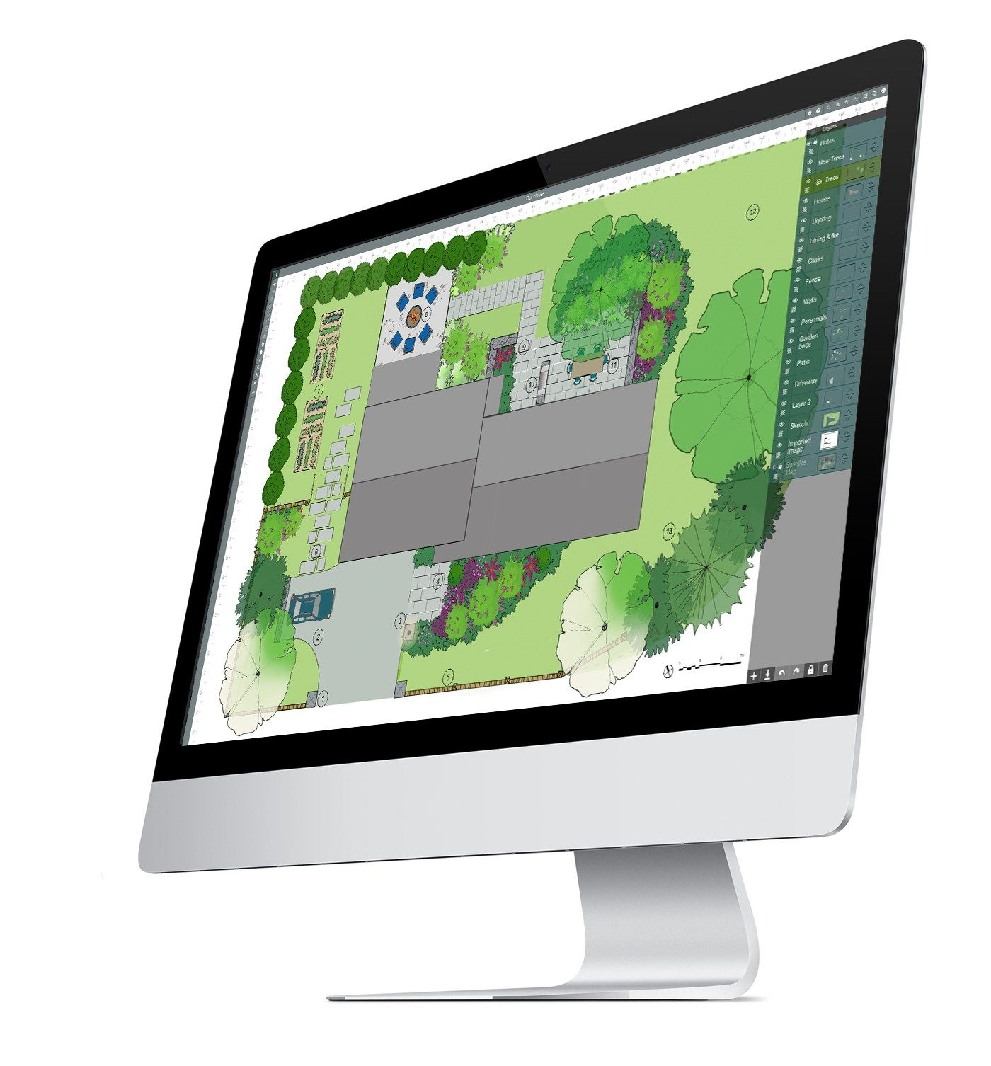 landscape software on Mac desktop computer | Mac desktop ...
