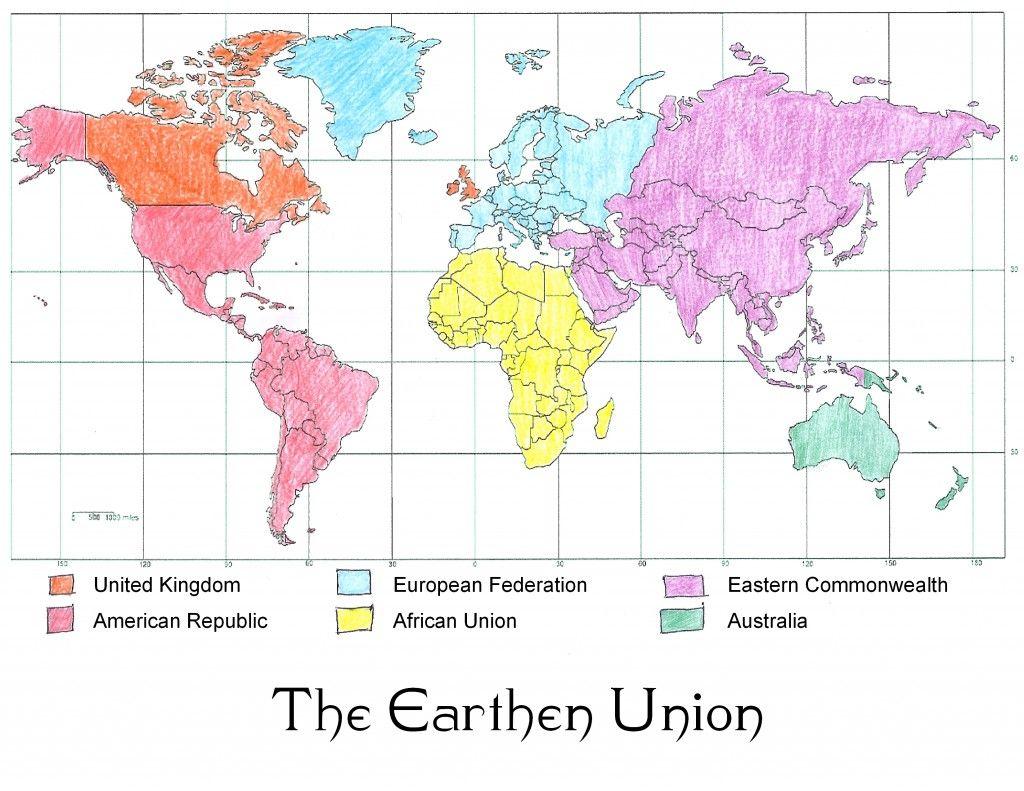 The Earthen Union (The Lunar Chronicles)