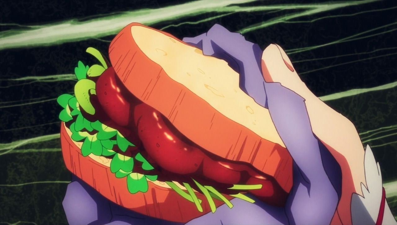 Sword Art Online Sandwich Reference Picture Geek Food Delicious Sandwiches Food Illustrations