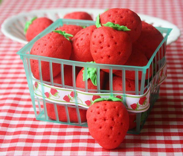 Strawberry Sugar Cookies~Take 2