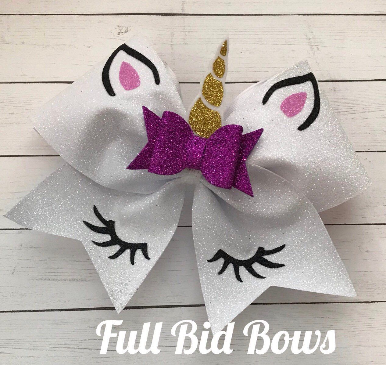 Cheer Bow - Unicorn #hairbows