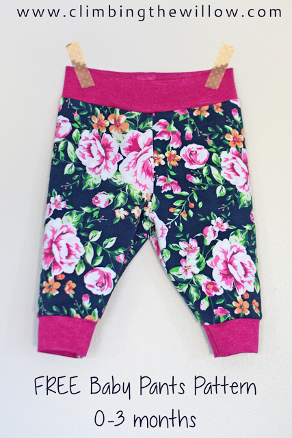 8d22985f5d5d18 Here's the third and final tutorial for sewing the baby basics 0-3 months  pants
