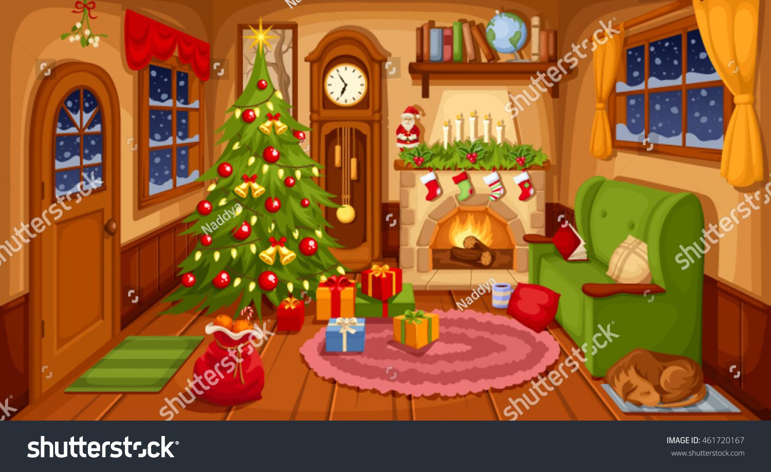 Pin By Aygh On Xristoygenna Christmas Photography Backdrops Christmas Room Christmas Living Rooms