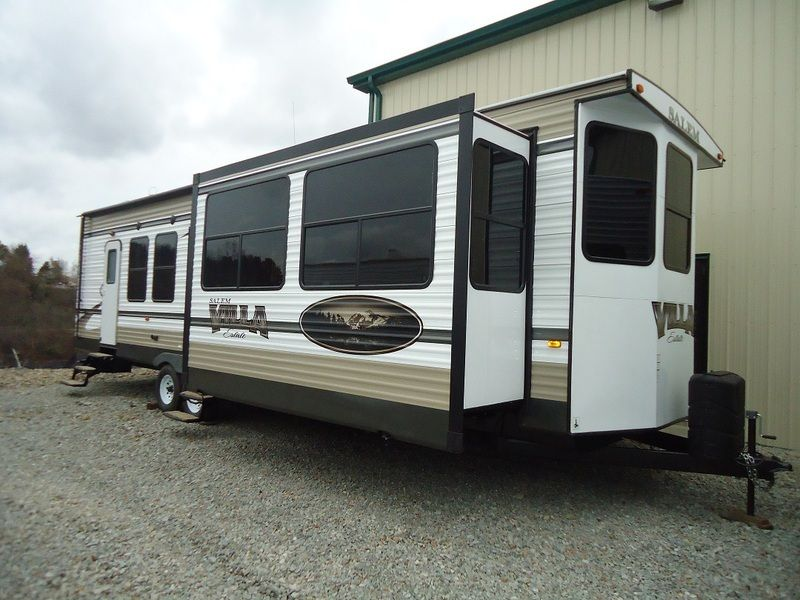 2015 Forest River Salem Villa 385FLBH Park Models RV For Sale In Connelsville Pennsylvania