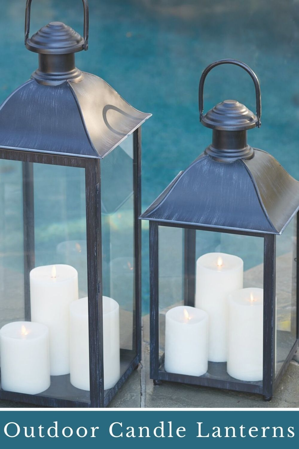 Decorative Outdoor Candle Lanterns In 2021 Outdoor Candle Lanterns Outdoor Lanterns Candle Lanterns