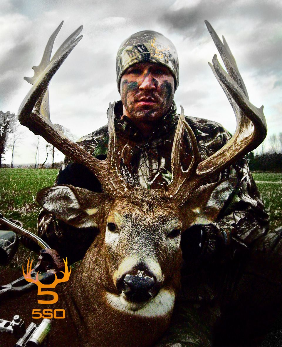 5th Season Outdoors pro Beau Patterson with the King buck!