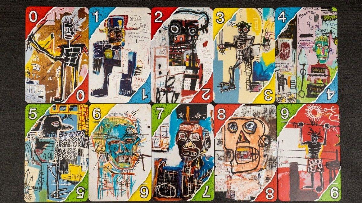 Ta Todo Mundo Pirando Com Essa Edicao Especial Do Uno Homenageando Basquiat Jean Michel Basquiat Artistas Obras De Arte Contemporaneas