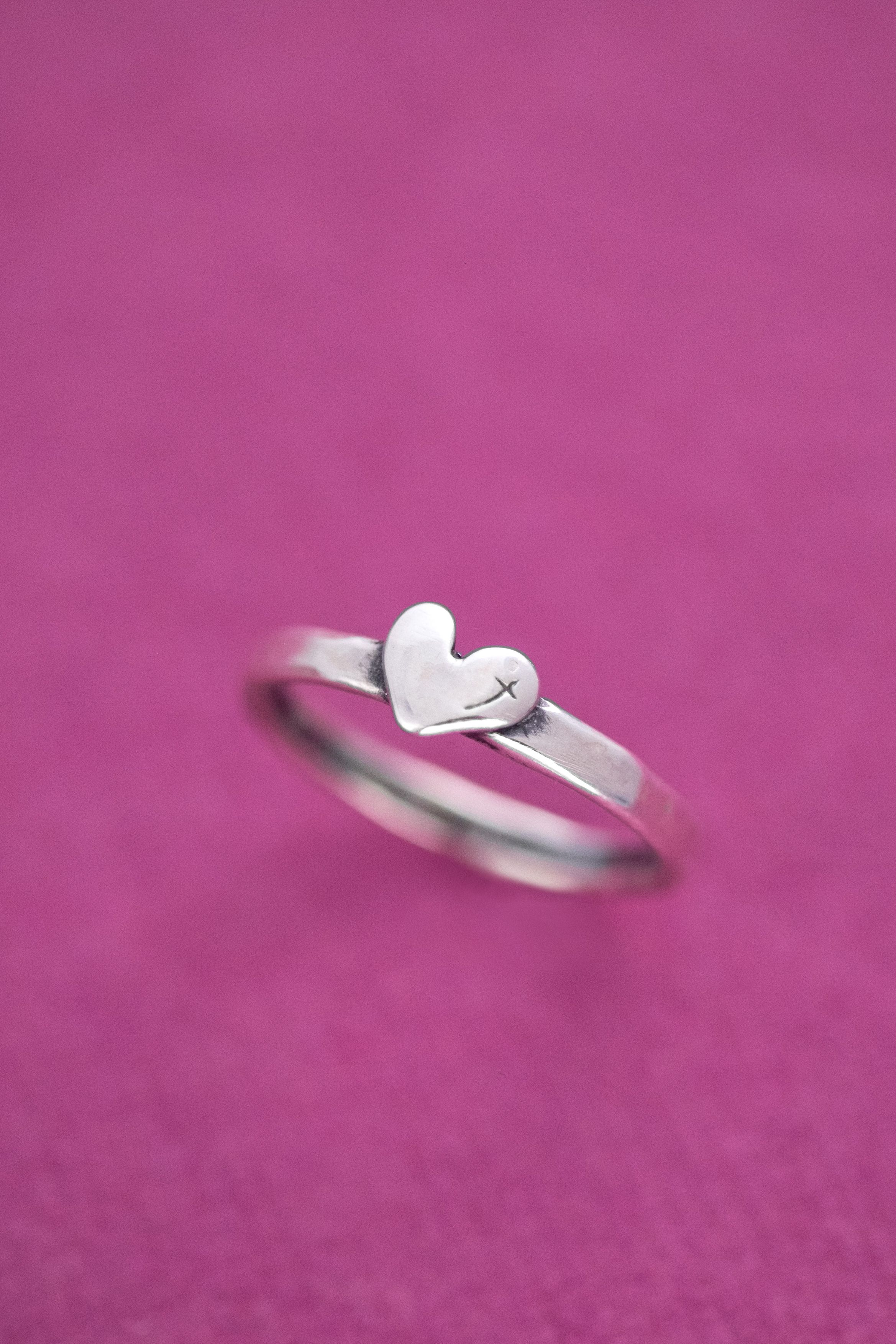 Heart for God Ring | Reflection, Petite and Sterling silver