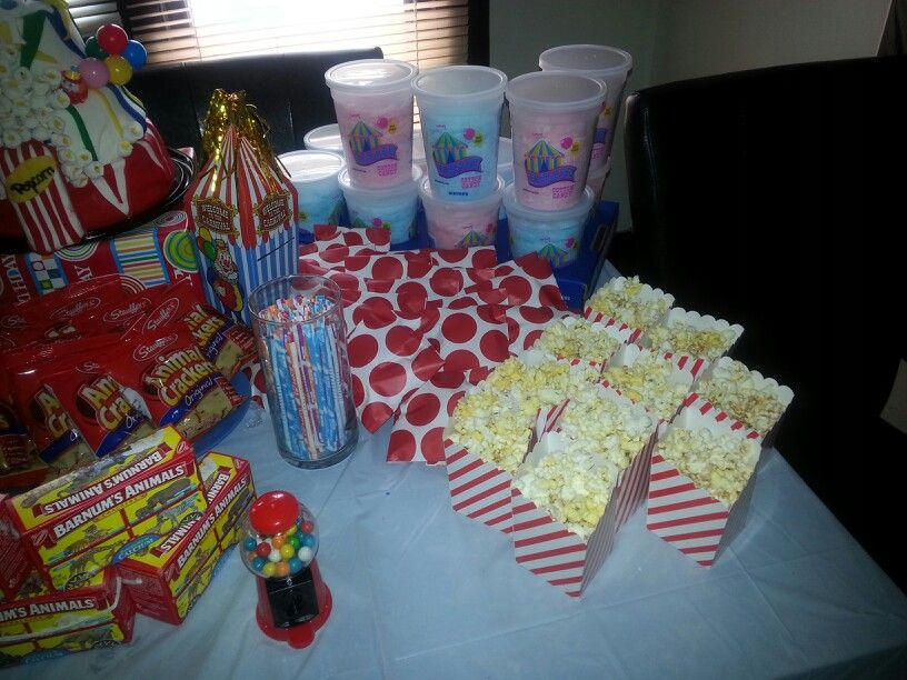 Carnival treats/food