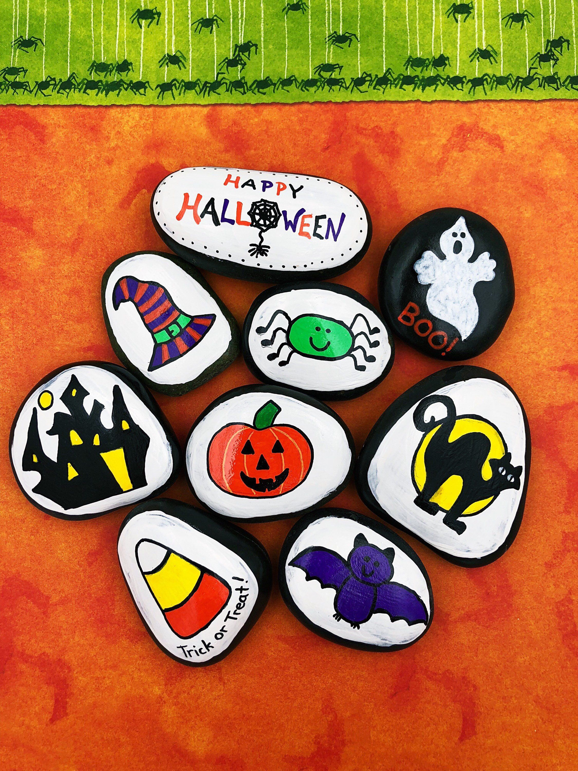 Halloween Story Stones Trick Or Treat Story Starters