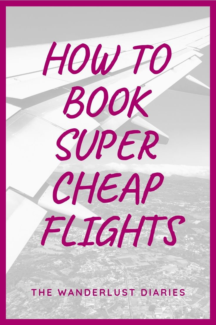 One of my best cheap flight bookings was when I flew