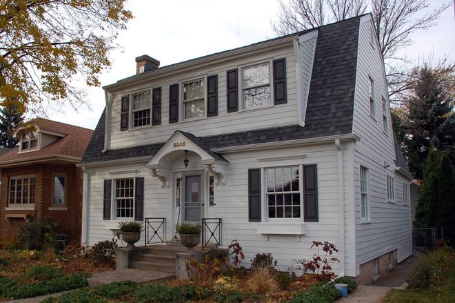 Roots Of Style Dutch Colonial Homes Settle On The Gambrel Roof Dutch Colonial Homes Colonial House Dutch Colonial