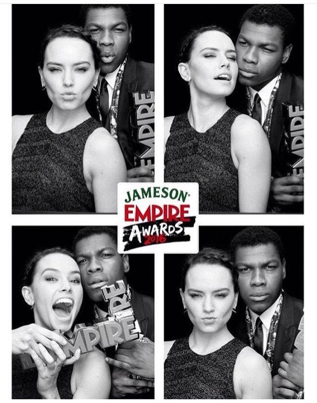 Daisy Ridley & John Boyega