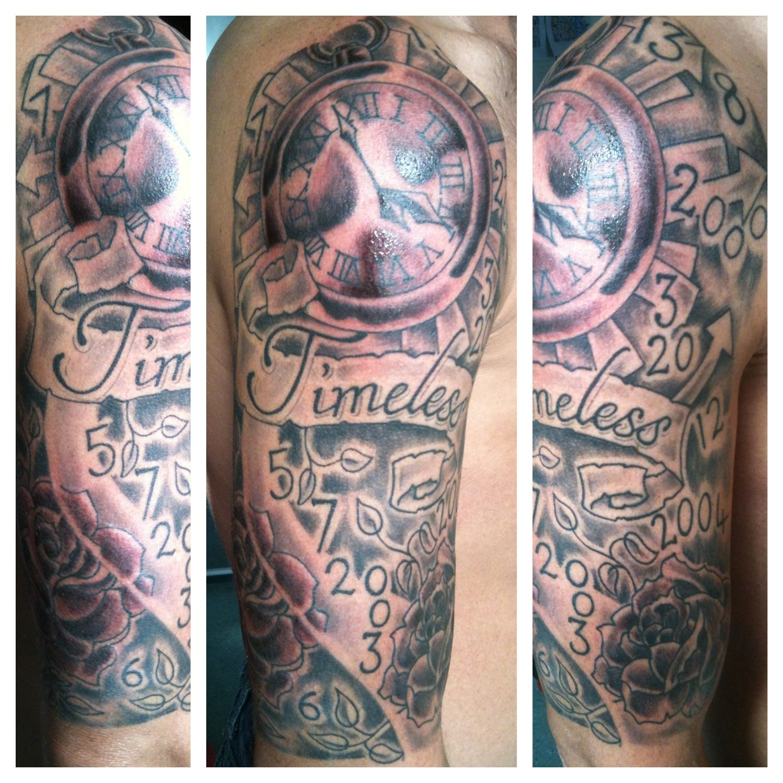 Liverpool Timeless Tattoo Sleeve Smithdowntattoo