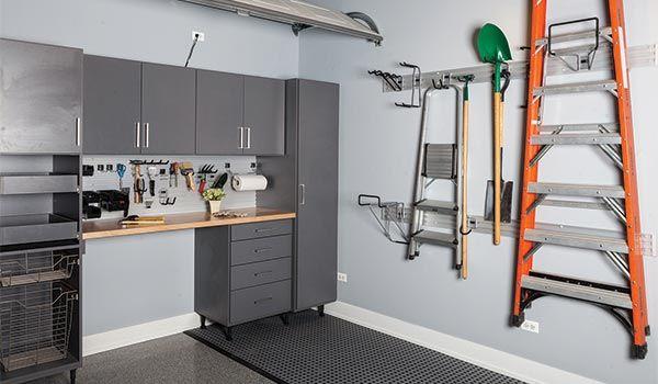 Garage Design 6 Workroom Garage Cabinet Ideas Closet Designs