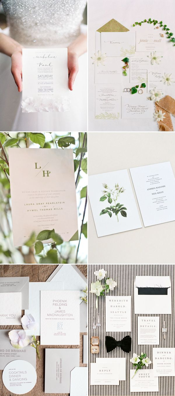 7 Top Wedding Invitation Trends for 2016 | Creative design ...
