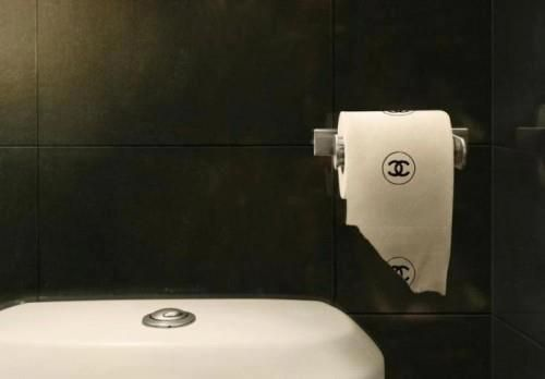 Chanel Toilet Paper. Mind As Well Wipe Your Bum With Dollar Bills