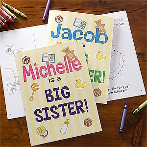 personalized big sister book