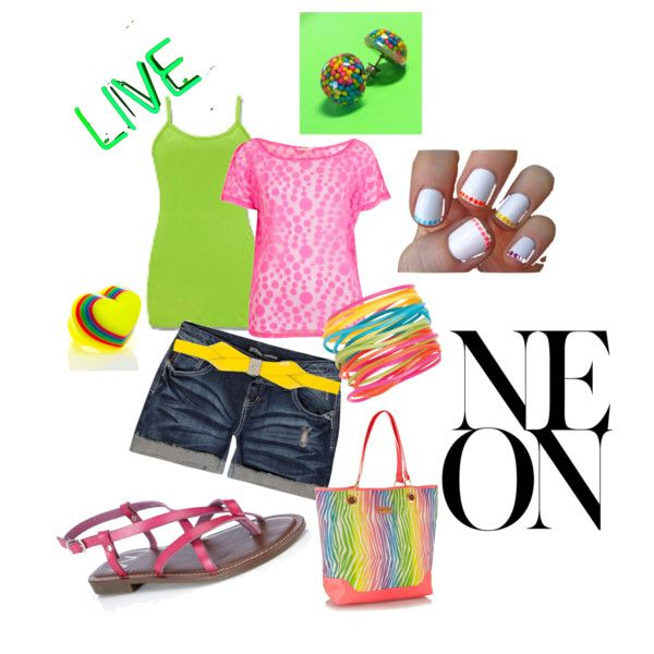 b bright,i want those earrings sooooo bad!!!! created by lilnelson707 on Polyvore