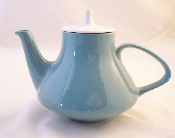 Poole Pottery Celeste Teapots