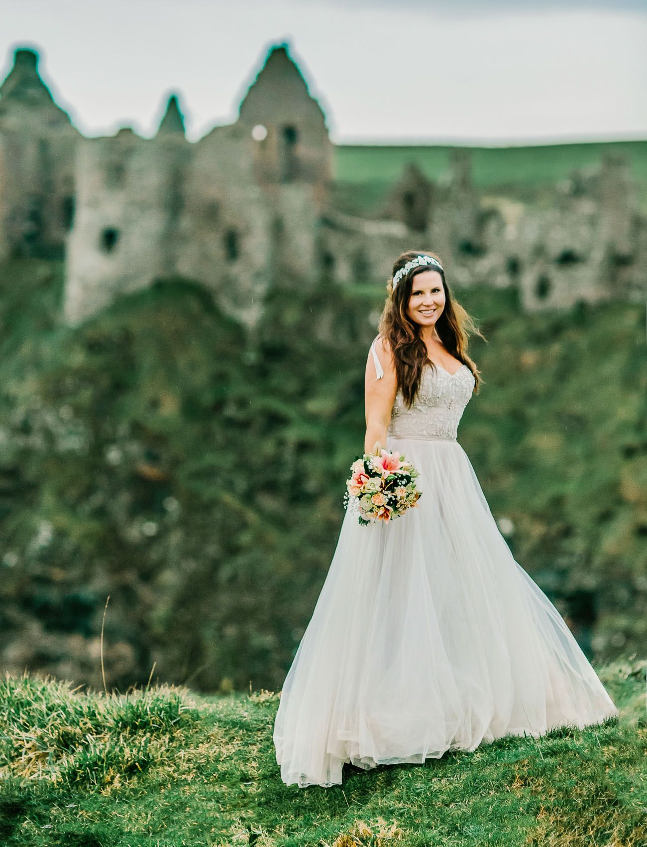 An Elopement Adventure From the Dark Hedges to a Castle in