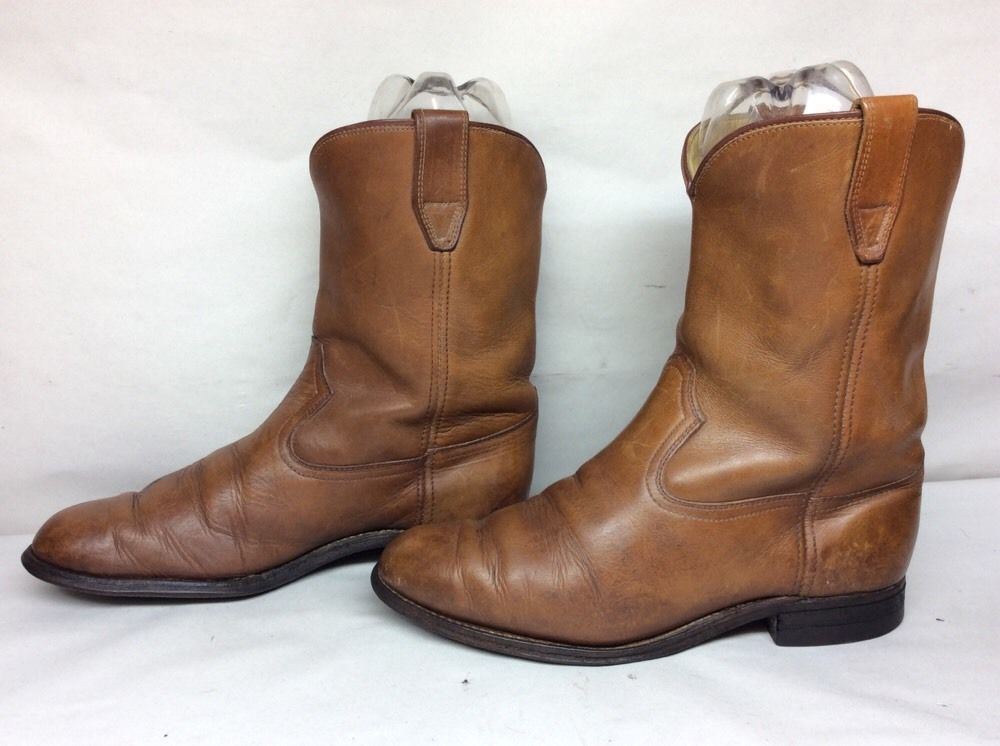 MENS UNBRANDED BROWN CHELSEA BOOTS SIZE 9.5